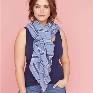 Lane Bryant 2 in 1 vest and scarf